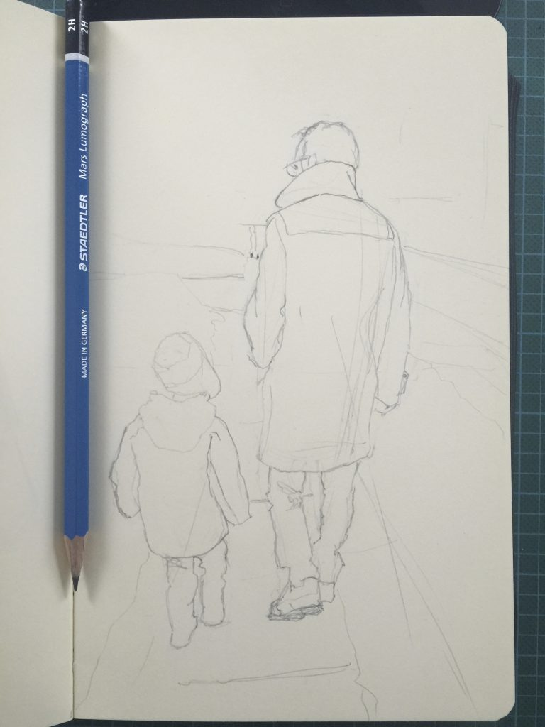 Father and son (work in progress)
