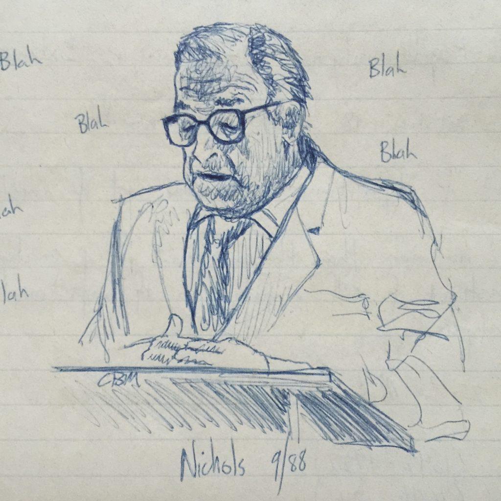 Prof. George Nichols