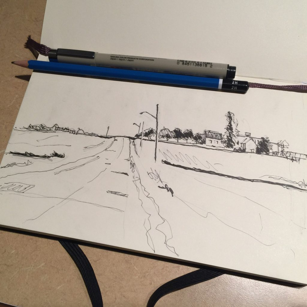 Folkins Drive sketch