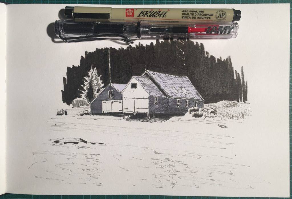 The Boathouse (sketch)